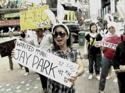 For 2PM - 1:59 Time Stop Flash Mob by Malaysia Hottest Video