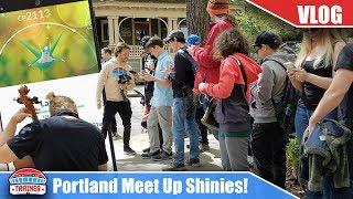 INSANE SHINY LUCK @ PORTLAND MEET UP EXCEPT FOR.. ME? SHINY LATIOS & SHINY SHUCKLE | POKEMON GO VLOG