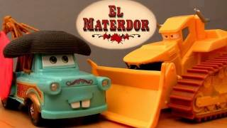 El Materdor track playset with Chuy CARS TOON