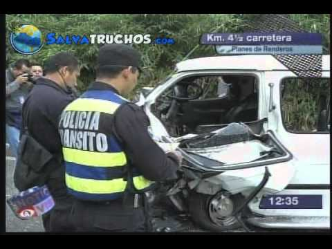 Múltiples Accidentes Viales se Registraron Este Día.