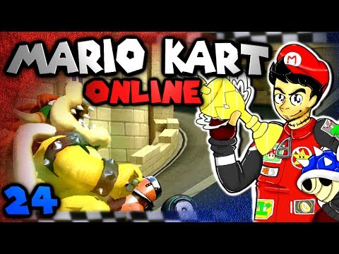 Chilled and GaLm Annihilate! (Mario Kart 8 Online: The Derp Crew - Part 24)