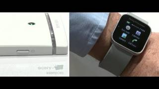 CES 2012_ New Xperia S Phone by Sony! First Hands On Demo + New Smart Watch!