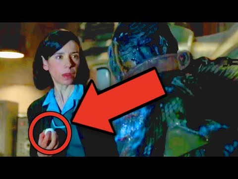 SHAPE OF WATER Review & Analysis (Ending Explained)