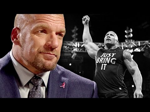 Triple H on The Rock's Electrifying Return