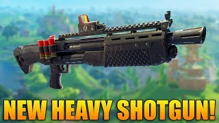 NEW HEAVY SHOTGUN & UPDATE OUT NOW!  - Fortnite Battle Royale Gameplay - 1100+ Wins - (PS4 PRO)