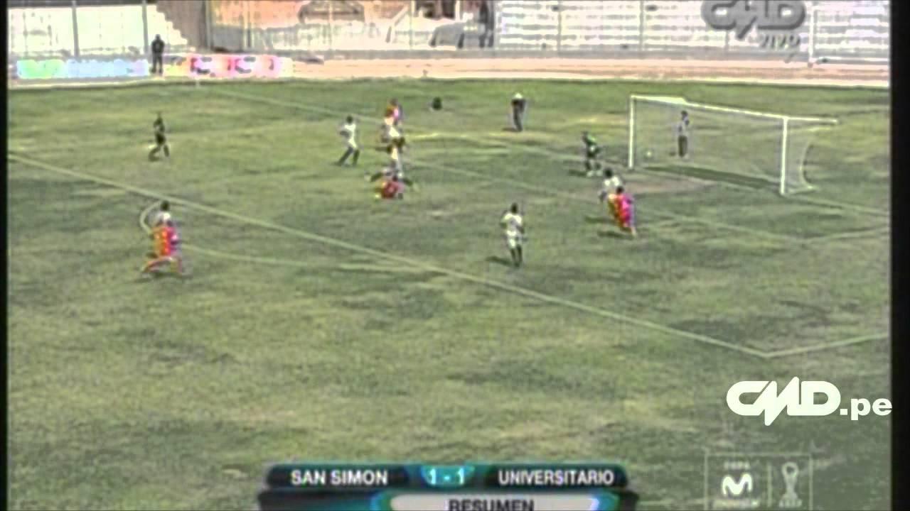 San Simon 1-1 Universitario De Deportes