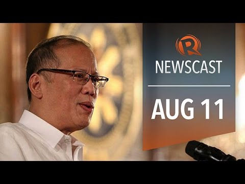 Rappler Newscast: Aquino ratings, Ebola vaccines, ISIS militant's son