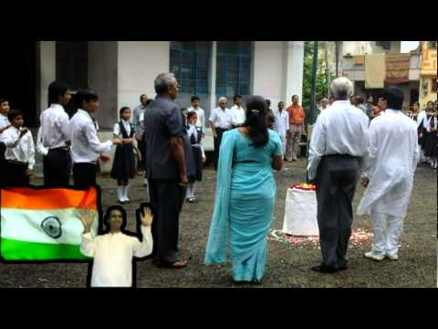 National Anthem (india) On 15 Aug 2011 video