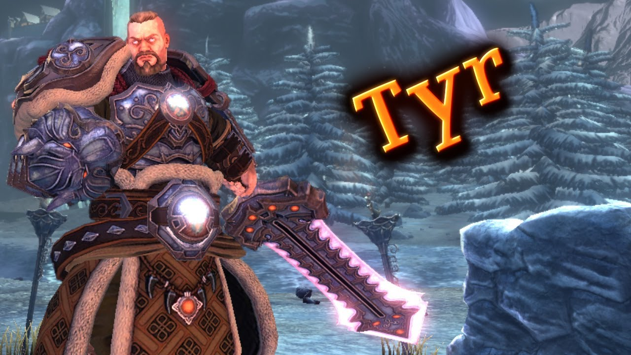 New Smite Patch God Tyr S Overview Youtube