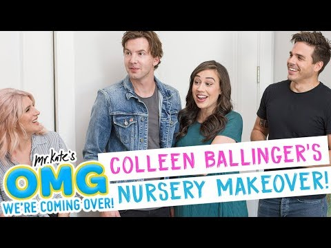 Colleen Ballinger's Nursery Makeover!