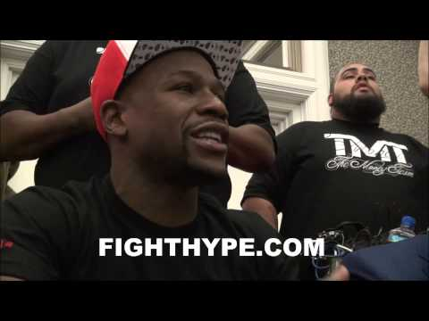 FLOYD MAYWEATHER DISCUSSES PAST ADVICE HES GIVEN ADRIEN BRONER YOU GOTTA LISTEN TO ME