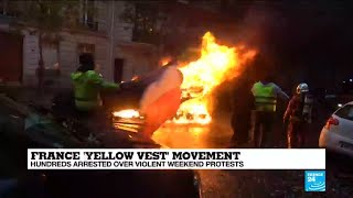 "France ""Yellow Vest"" protests: Take a look back at a weekend of violent clashes"