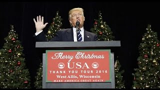 Merry Christmas from Donald Trump it