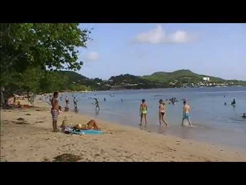 Plage de la pointe Marin Saint Anne Martinique