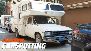 Park a Toyota Camper To Avoid Paying Rent in NYC | Carspotting