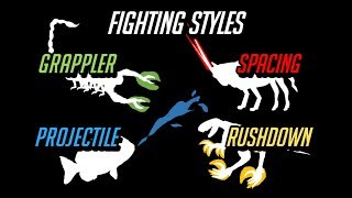 The 4 Animal Combat Styles