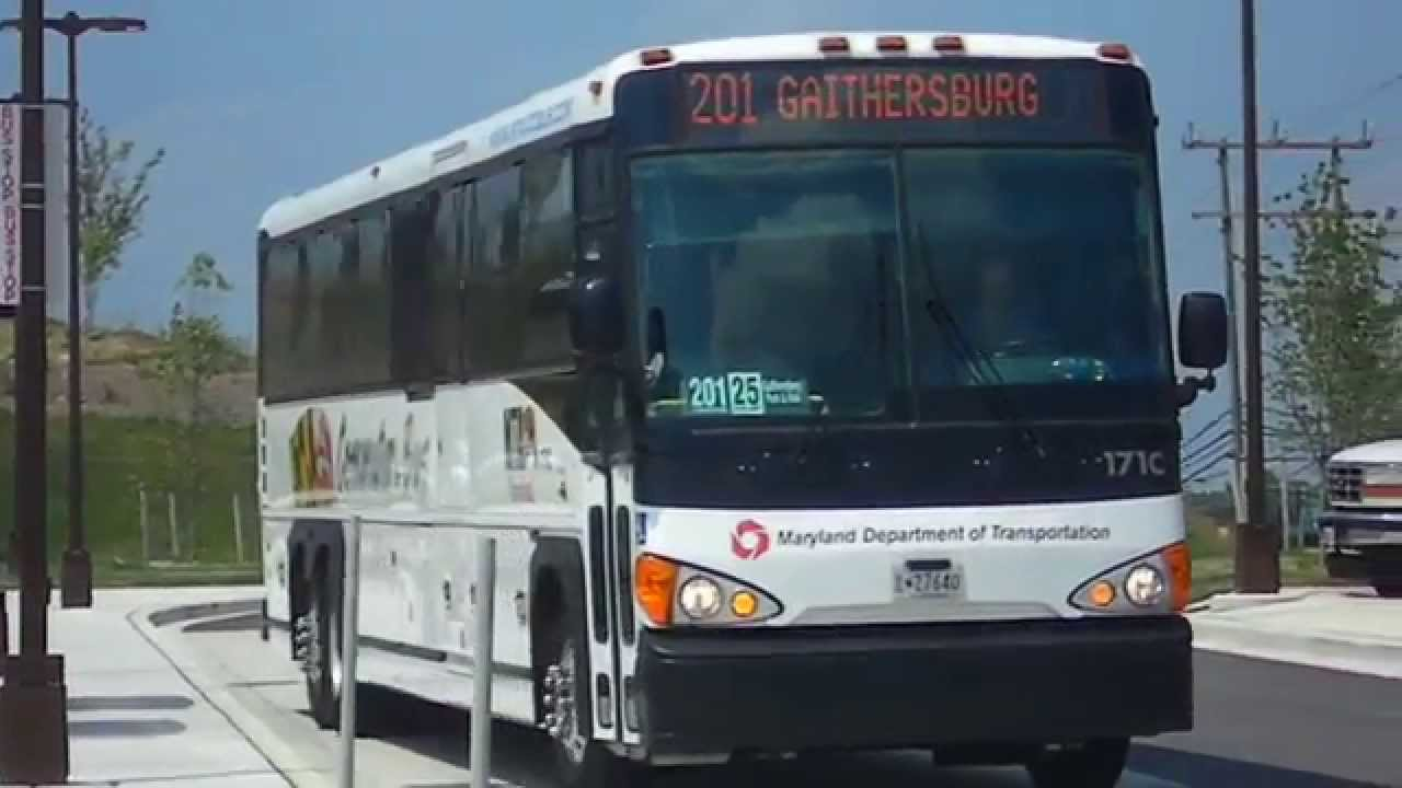mta maryland commuter bus 2011 mci d4500ct 171 c on route 201 intercounty connector youtube. Black Bedroom Furniture Sets. Home Design Ideas
