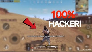 This Cheater Has Unlimited Health!   PUBG Mobile Lightspeed   100% HACKER!