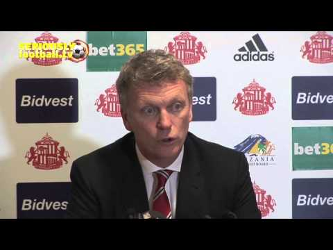 David Moyes - First Press Conference After Sacking