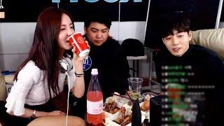 [4] 갑자기 온 손님!! BJ유연과 함께 꿀잼 소통방송! - KoonTV
