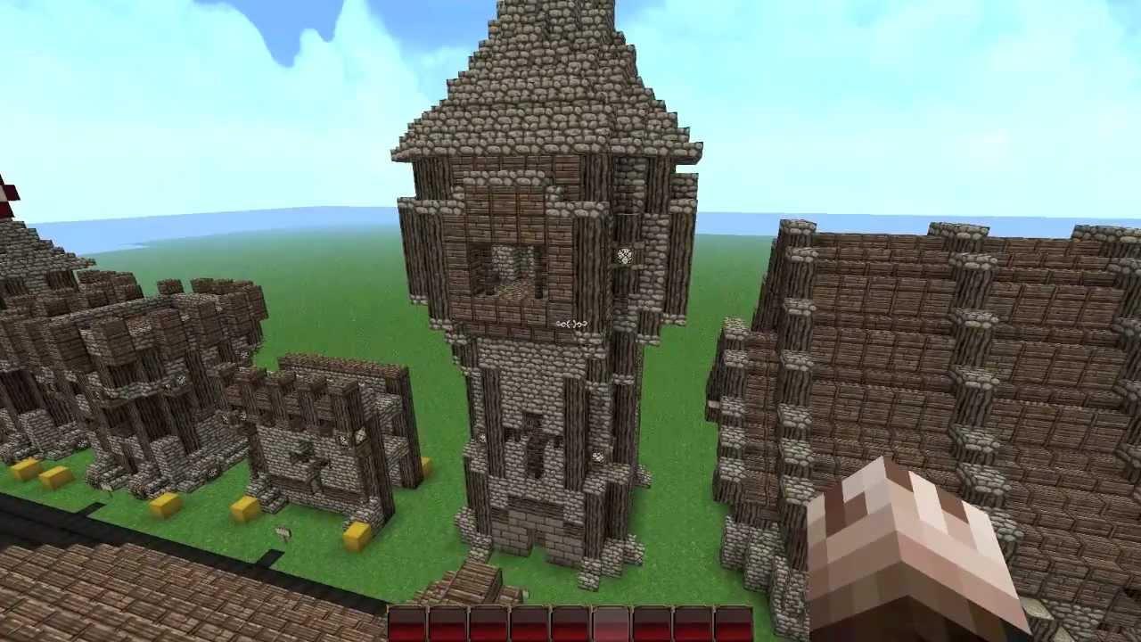Minecraft Speed Build Medieval