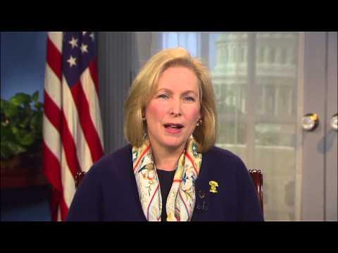 Kirsten E. Gillibrand, United States Senator MSP 2015 Spring Benefit Gala Honoree