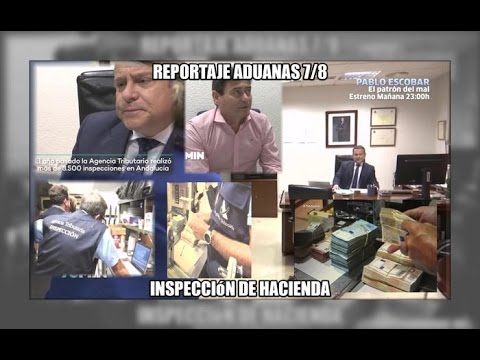 ADUANAS 7/8: Inspeccion de Hacienda - Aduanas SVA