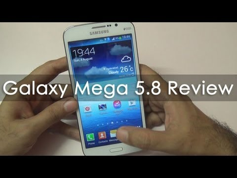 Samsung Galaxy Mega 5.8 Full In-depth Review