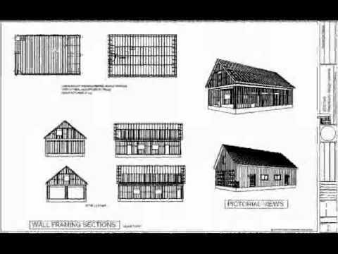 G394 30 39 x 50 39 x 10 39 detached garage with bonus room youtube for 50 x 30 garage plans