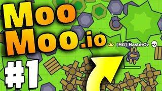 STRONGEST & BIGGEST BASE EVER!! | MooMoo.io | Games Like Slither.io | Moomoo.io Part 1