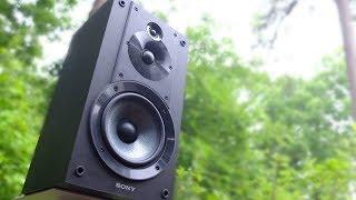 Review! The Sony CORE SS-CS5 Bookshelf Speakers!
