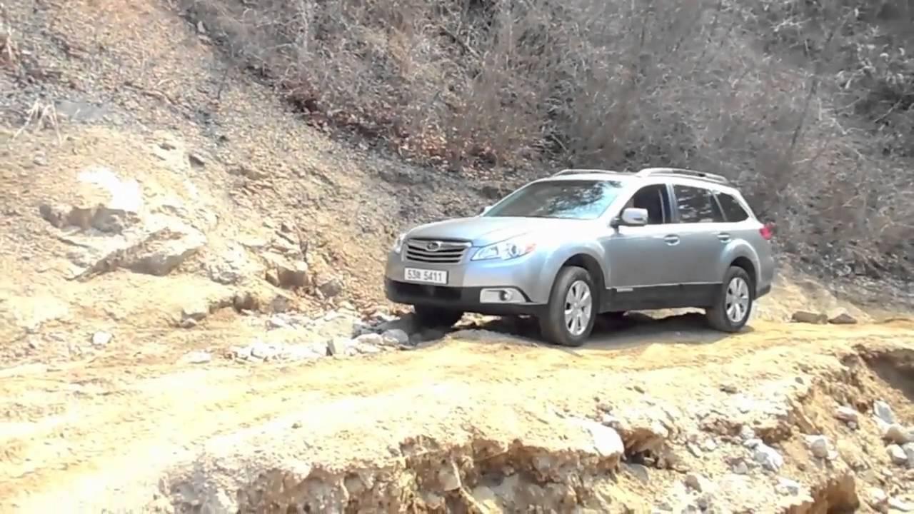 Subaru outback, off road test #01 - YouTube