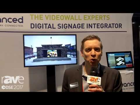 DSE 2017: advanced Shows Large Format Display Technology For Retail Enviroments