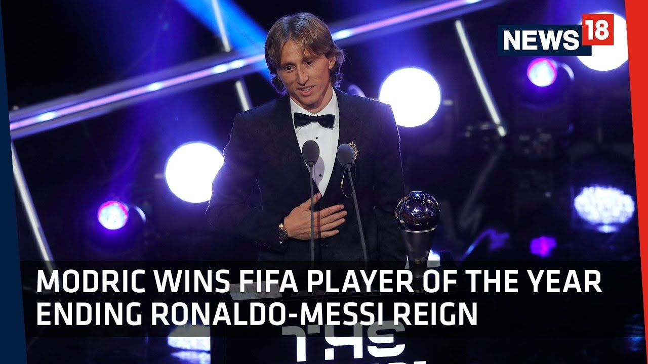 FIFA Football Awards | Luka Modric Wins World's Best Male Player