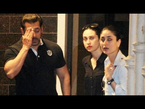 Kareena Kapoor, Hrithik Roshan Meets Salman Khan At His Galaxy Apartment | Hit-And-Run Verdict