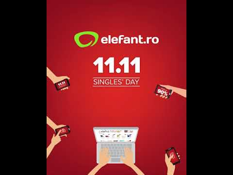 Singles' Day - 11.11 - la elefant.ro (4:5) (19 sec)
