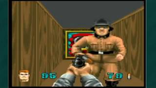 Wolfenstein 3D [atari jaguar] прохождение - gameplay