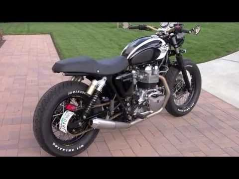 Triumph Bonneville T100 Modified by Nick Serrano