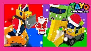 Tayo the strong heavy vehicles and it's Christmas! l Tayo's Sing Along Show1 l Tayo the Little Bus