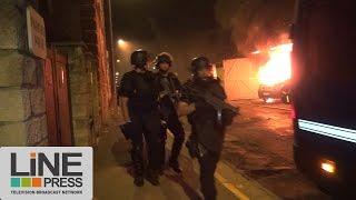 Deuxième nuit d'émeutes dans le Val d'Oise / Beaumont-sur-Oise (95) - France 20 juillet 2016