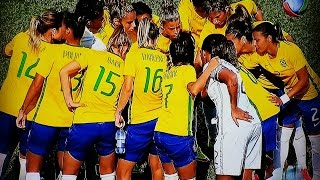 Brasil 7x1 Equador Futebol Feminino - Jogos PanAmericanos 15 07 15