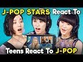 J-pop Stars React To Teens React To J-pop (Perfume)