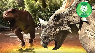 ADVENTURES OF DINOSAURS CERATOPS | PART 1 | SD QUALITY | FULL MOVIE | EN