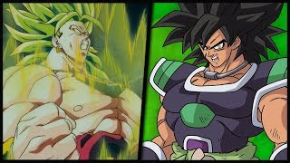 Dragon Ball Super Broly vs Dragon Ball Z Broly