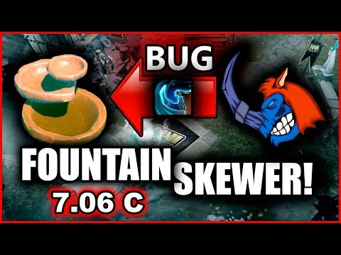 Magnus Fountain SKEWER BUG is BACK !!! 7.06c patch!