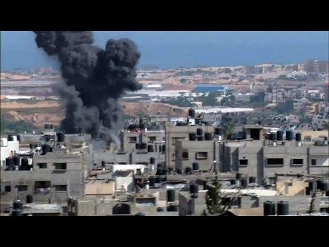 Gaza casualties grow from Israeli airstrikes