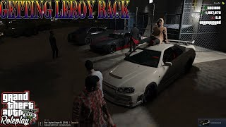 GETTING LEROY BACK | CHILL CAR MEET | WILD SIDE RP