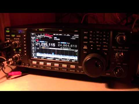 ZL9HR Campbell Island  Elecraft K-3 Has VFO Drift?  Sub-Antarctic Icom IC-7600