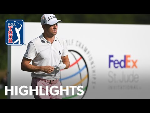 Justin Thomas' winning highlights from WGC–FedEx St. Jude