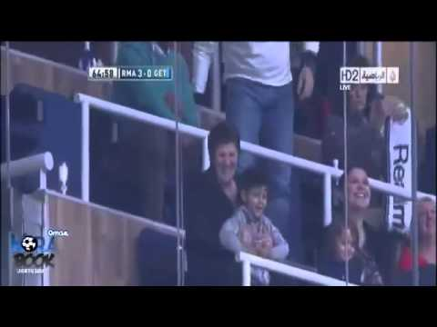 Cristiano Ronaldo Amazing Hattrick dedicated his mother Real Madrid Vs Getafe 27 01 2013